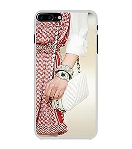 ifasho Designer Phone Back Case Cover Apple iPhone 7 Plus ( Mummy Egypt Pyramid Scary Tickets )