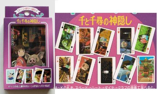 Studio Ghibli Playing Cards - Spirited Away