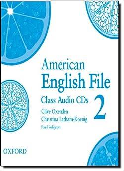 american english file 2 class cds. Black Bedroom Furniture Sets. Home Design Ideas