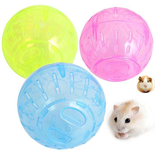 She-love Run-About Mini 4 inch Small Animal Hamster Run Exercise Ball 51i98SDrzEL