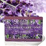 Lass Naturals Lavender And Ylang-Ylang Soap 125g – Handmade Bathing Bar With Sedative Properties | Skin Care