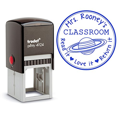 blue-ink-self-inking-personalized-teacher-stamp-from-the-classroom-of-planet-saturn-read-it-love-it-