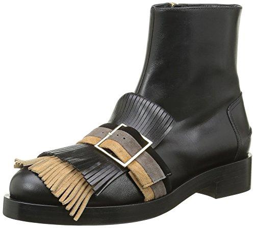 Kallisté5826.2 - Stivali a metà polpaccio con imbottitura leggera Donna , Nero (Nero (Nero)), 41 EU