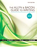 The Allyn & Bacon Guide to Writing: Concise Edition (5th Edition) (0205598722) by Ramage, John D.
