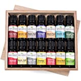 14 Essential Oil Set (14 Top Synergies) Includes 100% Pure, Therapeutic Grade of: Germ Fighter, Brain-Aid, Respir-Aid, Energy, Energy, Sensual, Muscle-Aid, Tranquil, Immune-Aid, Relax, Holiday Season, Rapid Relief, Nature Shield, Citrus Burst, Digest-Aid. 10 ml each.