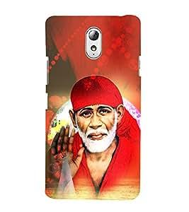 Shirdi Sai Baba Cute Fashion 3D Hard Polycarbonate Designer Back Case Cover for Lenovo Vibe P1m