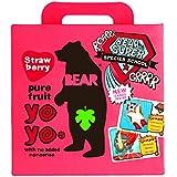 Bear Yoyo 100 Percent Fruit Rolls Strawberry 100 g (Pack of 6)