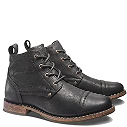 Caterpillar Men\'s Morrison Boot,Black,9.5 M US