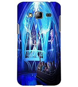 SAMSUNG GALAXY J3 PRINCES Back Cover by PRINTSWAG