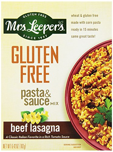 Mrs. Leeper's Beef Lasagne Dinner, 6.42-Ounce Boxes (Pack of 12) (Mrs Leepers Corn compare prices)