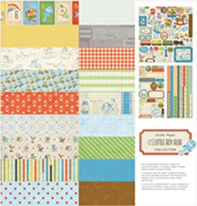 Crate Paper - Little Boy Blue-Collection Pack