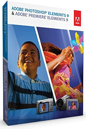 Photoshop Elements 9 + Premiere Elements 9 (pour PC et Mac)