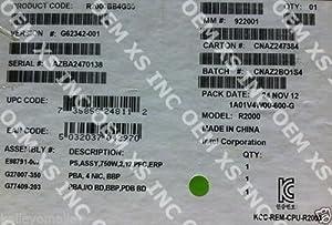 Intel R2000BB4GS9 Server System 750W, 2U Rack, DDR3 New