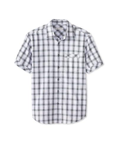James Campbell Men's Short Sleeve Palmer Plaid Shirt