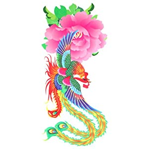 Amazon.com: GGSELL LW phoenix temporary waterproof tattoo sticker