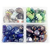 Eshoppee Fancy Glass Beads For Jewelery Making And Home Decoration 400 Gm Mixing Set