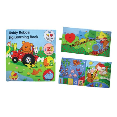 Edu-Petit Teddy Bobo's Big Learning Book Developmental Toy - 1