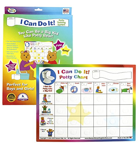 Kenson Kids I Can Do It! Potty Training System, box (Potty Training Girls Chart compare prices)