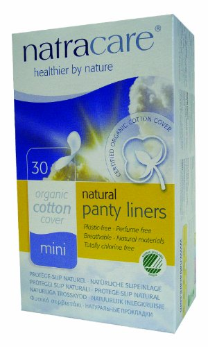 Natracare Natural Panty Liners, Breathable, 30 Count Boxes (450 Liners) (Pack of 15)