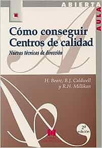 como conseguir centros de calidad: HEDLEY BEARE: 9788471336118: Amazon