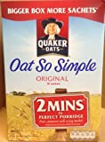 Quaker Oats ORIGINAL 18 Sachets 486gm