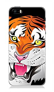 Apple iPhone 5 / 5s 3Dimensional High Quality Printed Back Case