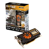 Zotac GeForce GTX 460 AMP Edition mit CUDA Grafikkarte (PCI-e, 1GB GDDR5 Speicher, DVI, HDMI, 1 GPU)von &#34;Zotac&#34;