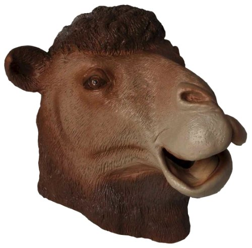 Forum Novelties Men's Deluxe Adult Latex Camel Mask