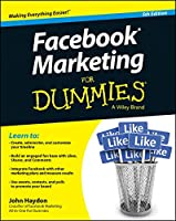 Facebook Marketing For Dummies, 5th Edition Front Cover