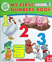 My First Numbers Book (Leapfrog)