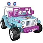 Fisher-Price Power Wheels Disney Frozen Jeep Wrangler Ride On