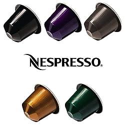 Nespresso 50 Pods Mixed Coffee Capsule