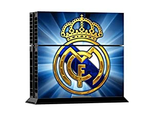 Arrela® PS4 Console & Controller Decal Sticker Skin Fashionable Delicate Non-slip Surface for PlayStation 4 Real Madrid