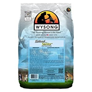 WYSONG PET NUTRITIONAL PRODUCTS 858037 4-Pack Optimal Senior Diet Food for Dogs, 5-Pound