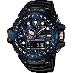 G-Shock GWN-1000B Master of G Series Stylish Watch - Black / One Size