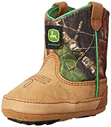 John Deere 188 Western Boot (Infant/Toddler),Camouflage,0 M US Infant