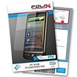 FX CLEAR screen protector for HTC Desire   Ultra clear screen protection! handhelds pdas