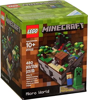 Lego Minecraft 21102 Micro World 480pcs from LEGO