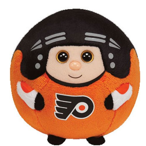 Ty Beanie Ballz Philadelphia Flyers Plush, Nhl front-791594