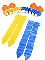 SKLZ 10 Man Flag Football New Deluxe Set