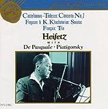 ": Castelnuovo-Tedesco: Concerto No. 2 ""Prophets"" / Ferguson & K. Khachaturian: Sonatas / Francaix: Trio"