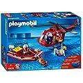 PLAYMOBIL® 4428 - SOS-Helikopter mit Rettungsboot