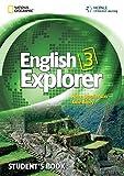 img - for English Explorer 3 with MultiROM (English Explorer: Explore, Learn, Develop) book / textbook / text book