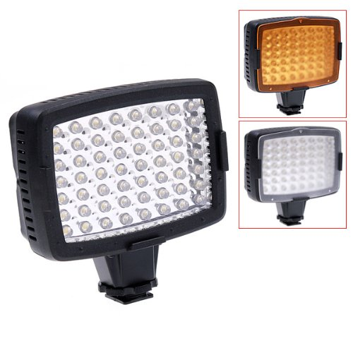 Nanguang 5400K LED Video Light Lamp for Camera DV Camcorder Lighting image