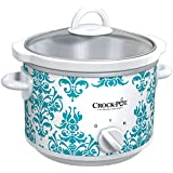 Crockpot SCR250DK-033 Manual Slow Cooker, Damask