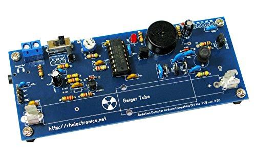 Galleon geiger counter radiation detector diy kit