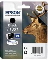 Epson T1301 Cartouche d'encre d'origine Durabrite Ultra Noir