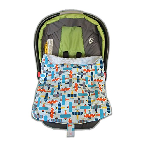 Car Seat Blankie Planes front-684408