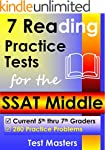 7 Reading Practice Tests for the SSAT...