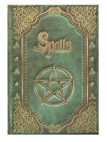 """Luna Lakota Pentagram Spells 4"""" Mini Hard Cover Embossed Blank Journal Book by Grindstore"""